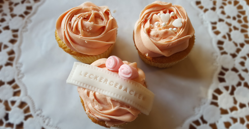 Cupcakes mit Frosting