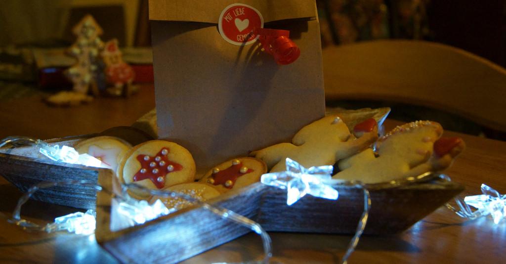 Kekse zum Verschenken