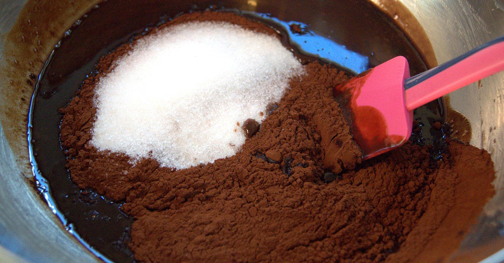 Teig Oreo Brownie Cupcakes