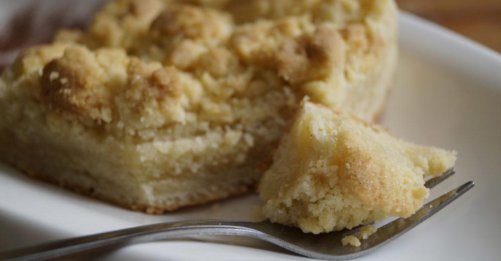 Streuselkuchen Stück