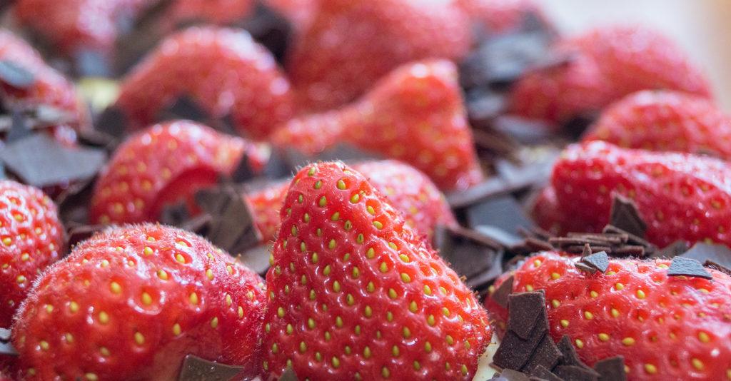 Erdbeer-Schmandkuchen
