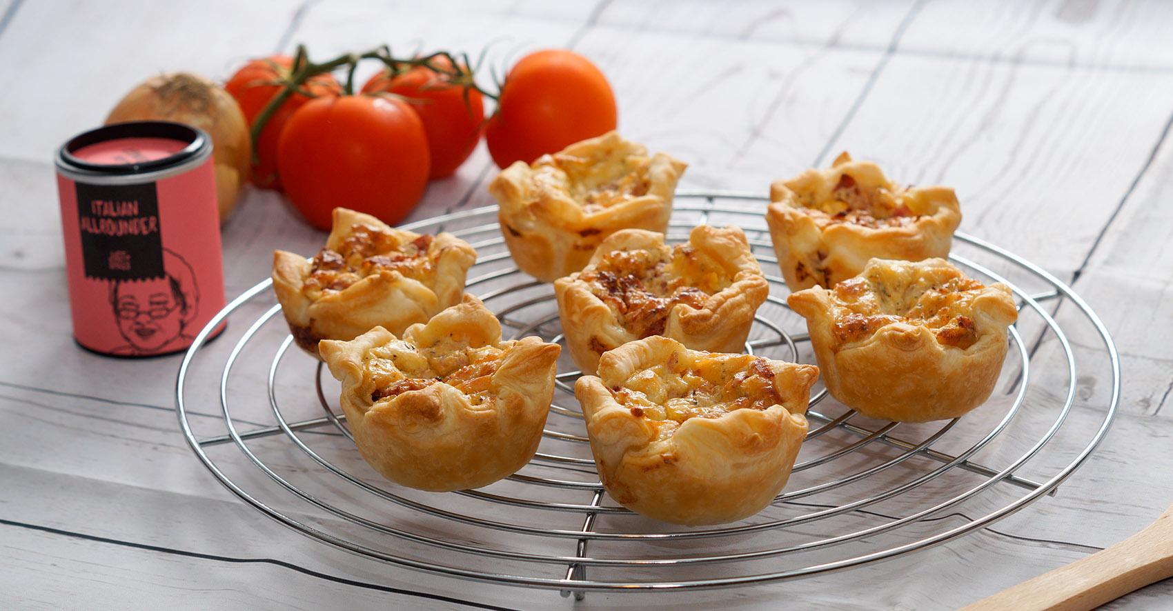 Piiza-Muffins
