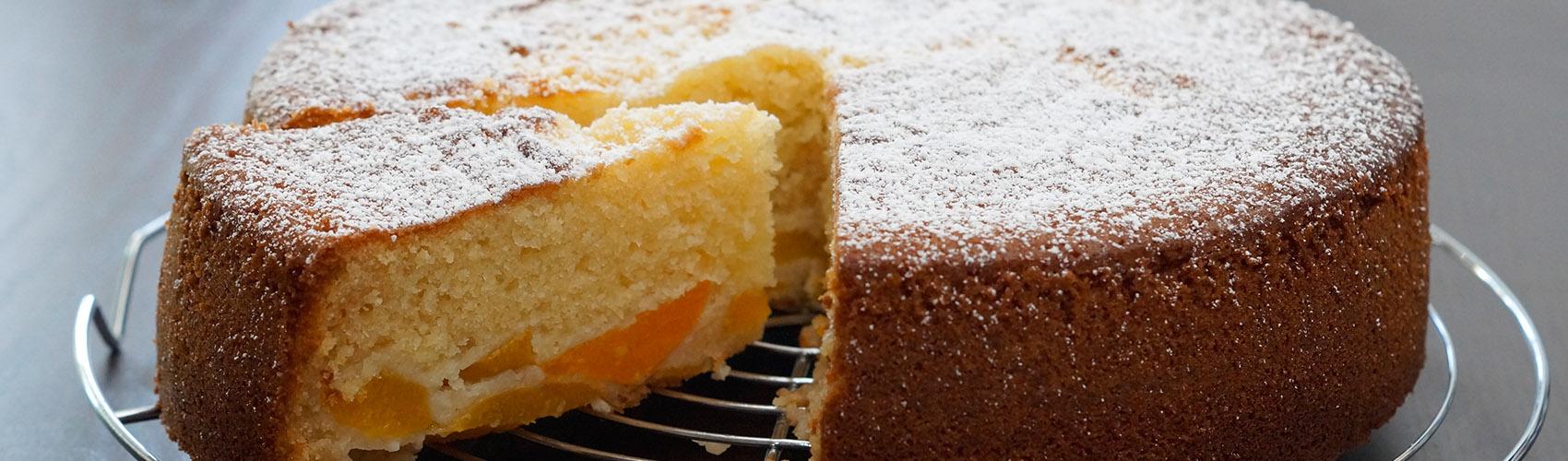 Kokos Pfirsich Kuchen Leckergebacken